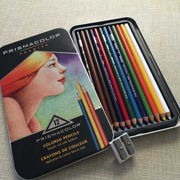 It Is Often Read That The Prismacolor Brand Colored Pencils Are Best And As I Play Am Tending To Agree They Do Give A Much Brighter Bolder Color
